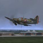 MB.152 au décollage de Reims