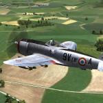 P-47D dans la région de Bastogne